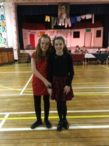 Primary 7 Burns Supper