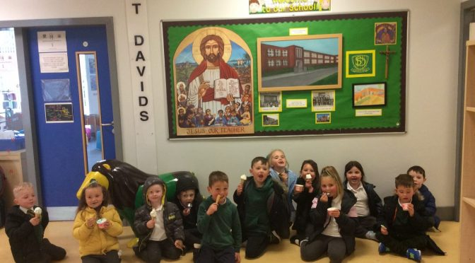 Primary 1 St. David's Feast Day 2021