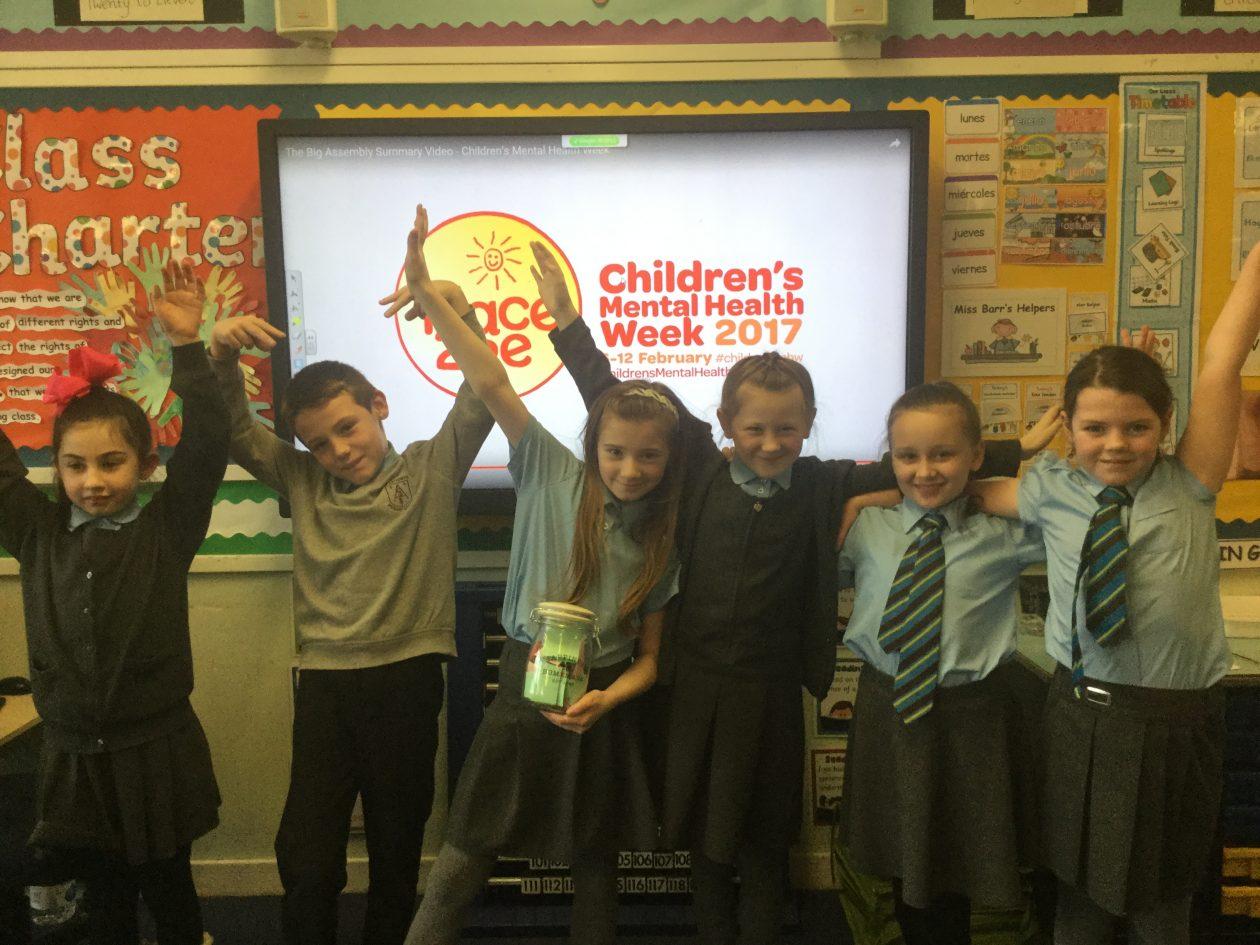 Children S Mental Health Week St Anthony S Primary