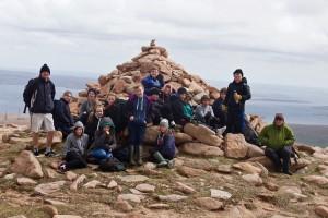 Ronas Hill Summit