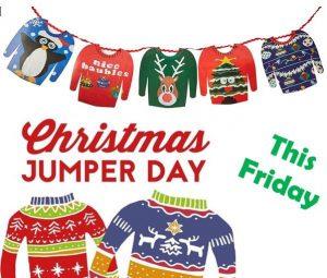Christmas Jumper Day – Friday 13th December   Sandwick Junior High School