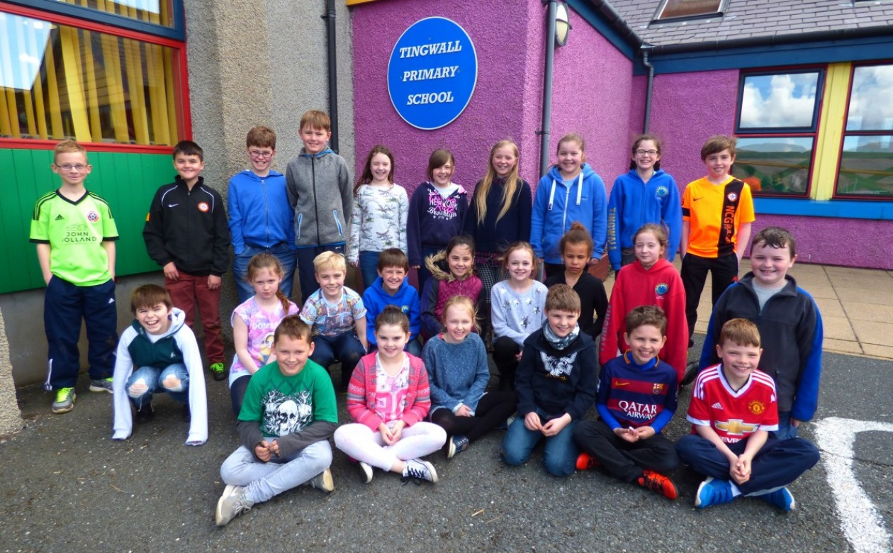 Tingwall Primary 4/5