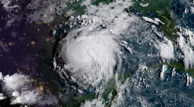 Hurricane Harvey Tears Through Texas