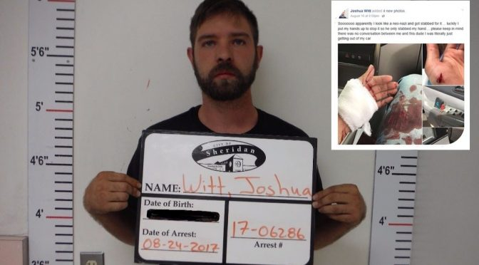 Stabbing Stupidity – White Man Arrested Over Racial Blame-Game