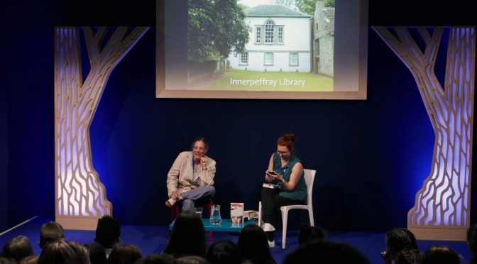 What happened when we went to the Edinburgh Book Festival?