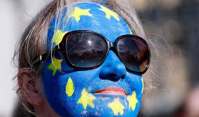 Anti Brexit Marches Descend Upon London