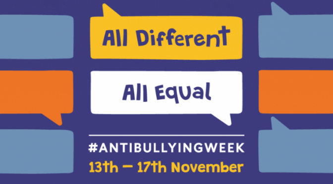 Anti-Bullying Week Kicks Off