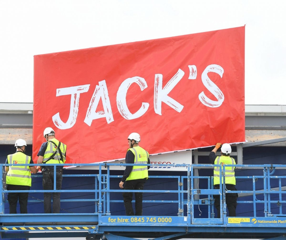 HiJacking Discount Supermarkets