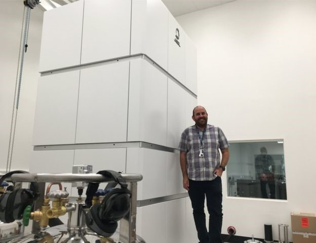 Brand New Microscope In Scotland and It's One of Only a Few