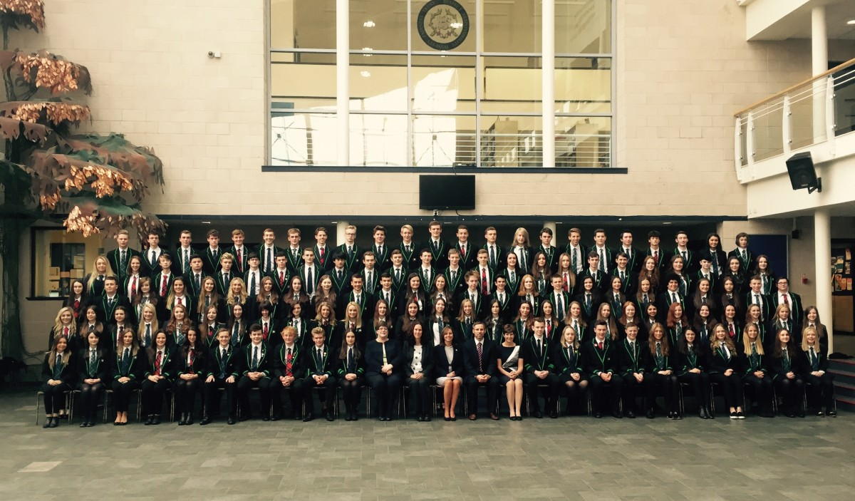 BHS prefects 2015