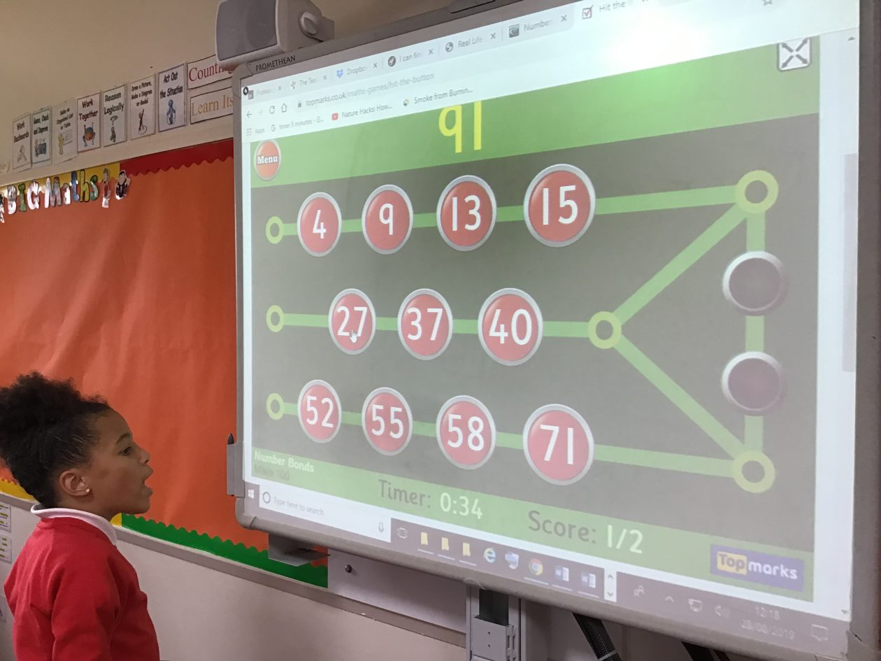 Jigsaw Numbers/French P5K | St Mary's Bannockburn