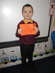 Well done James!