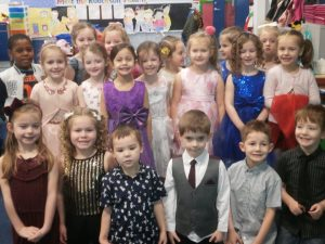 Primary 1 before the party