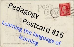 pedagogy postcard