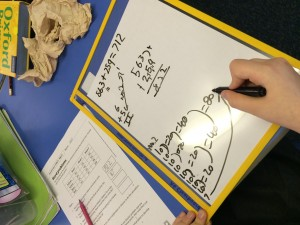 In P6 we like to use a range of methods to solve worded problems! How do you do it? What tools do you use to help you?